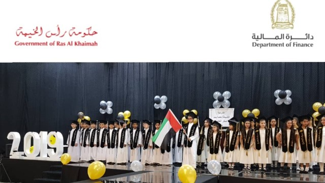 Department of Finance sponsors graduation ceremony of Sheikha Hessa bint Saqr Al Qasimi School